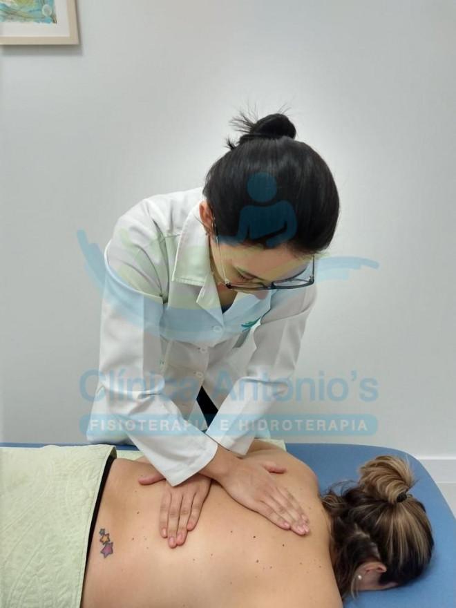 Liberação miofascial para dor nas costas