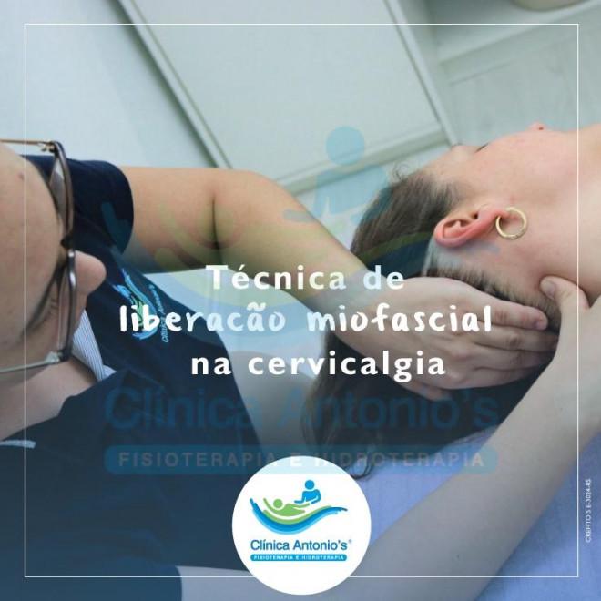 Liberacão miofascial na cervicalgia