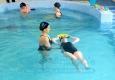 Natação - Exercício de pernas com flutuador